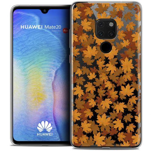 """Carcasa Crystal Gel Extra Fina Huawei Mate 20 (6.5"""") Autumn 16 Feuilles"""