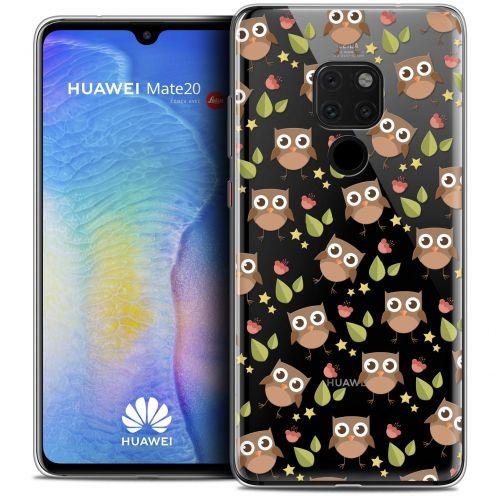 "Carcasa Crystal Gel Extra Fina Huawei Mate 20 (6.5"") Summer Hibou"