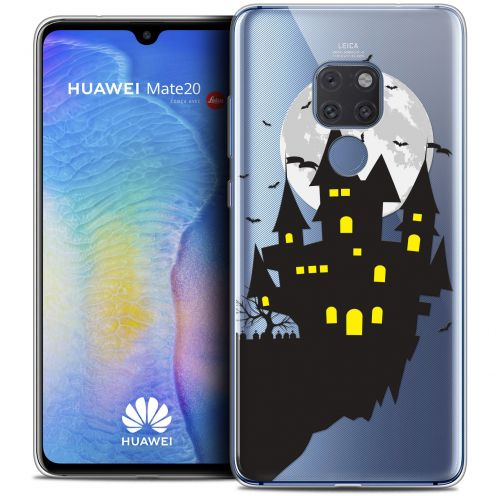 "Carcasa Crystal Gel Extra Fina Xiaomi Mate 20 (6.5"") Halloween Castle Dream"