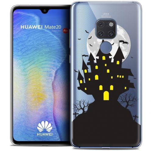 "Carcasa Crystal Gel Extra Fina Huawei Mate 20 (6.5"") Halloween Castle Scream"