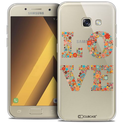 "Carcasa Crystal Gel Extra Fina Samsung Galaxy A7 2017 A700 (5.7"") Summer Love Flowers"