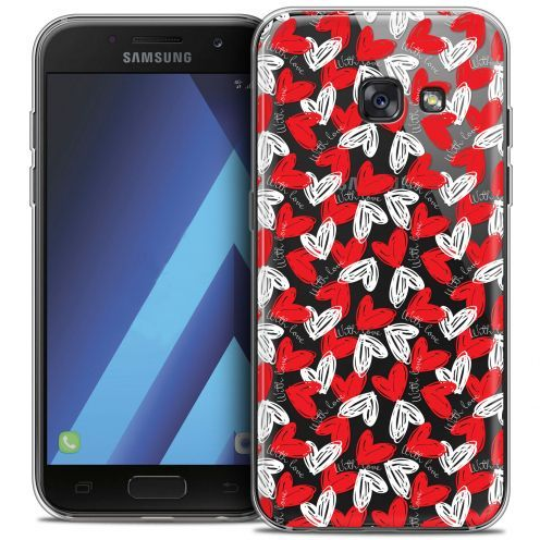 "Carcasa Crystal Gel Extra Fina Samsung Galaxy A7 2017 A700 (5.7"") Love With Love"