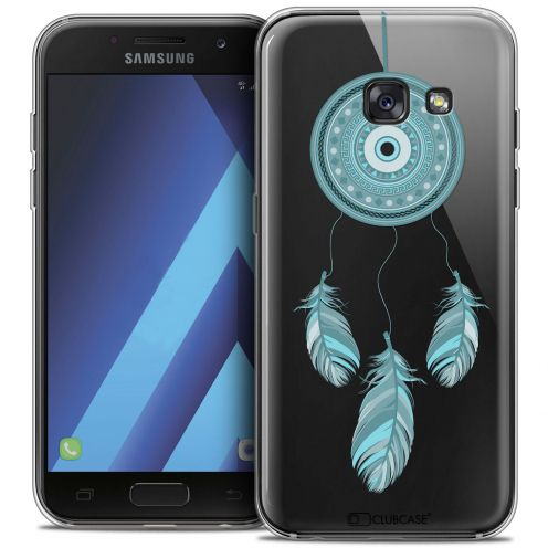 "Carcasa Crystal Gel Extra Fina Samsung Galaxy A7 2017 A700 (5.7"") Dreamy Attrape Rêves Blue"