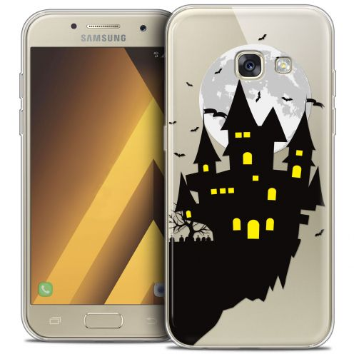 "Carcasa Crystal Gel Extra Fina Samsung Galaxy A7 2017 A700 (5.7"") Halloween Castle Dream"