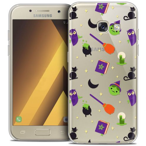 "Carcasa Crystal Gel Extra Fina Samsung Galaxy A7 2017 A700 (5.7"") Halloween Witch Potter"