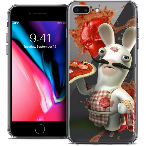 "Carcasa Crystal Gel Apple iPhone 7 Plus (5.5"") Lapins Crétins™ Cuisinier"