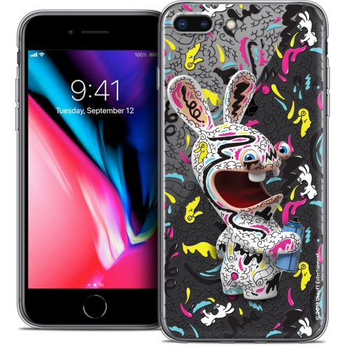 "Carcasa Crystal Gel Apple iPhone 7 Plus (5.5"") Lapins Crétins™ Tag"