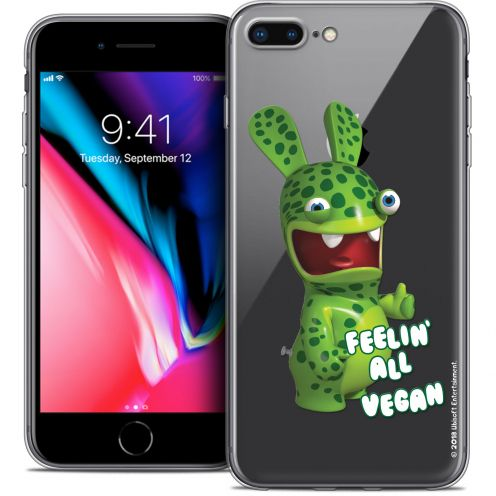 "Carcasa Crystal Gel Apple iPhone 7 Plus (5.5"") Lapins Crétins™ Vegan"