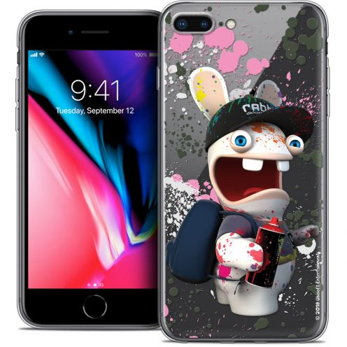 "Carcasa Crystal Gel Apple iPhone 7 Plus (5.5"") Lapins Crétins™ Painter"