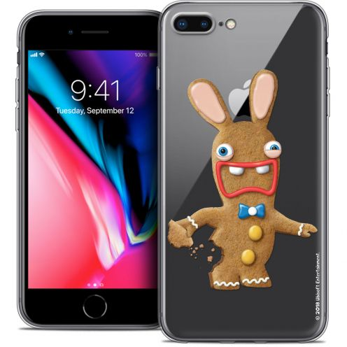 "Carcasa Crystal Gel Apple iPhone 7 Plus (5.5"") Lapins Crétins™ Cookie"