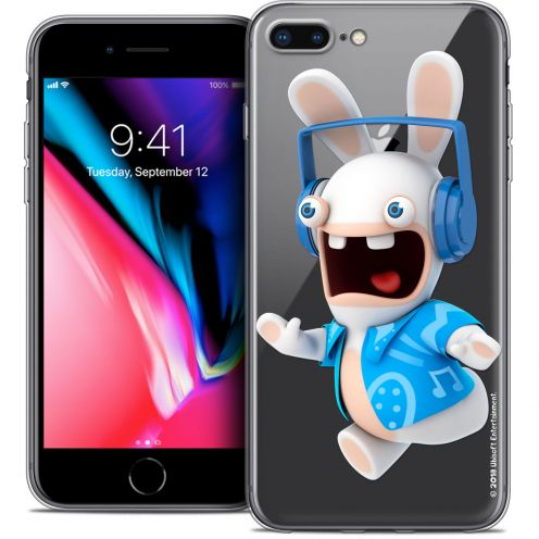 "Carcasa Crystal Gel Apple iPhone 7 Plus (5.5"") Lapins Crétins™ Techno Lapin"