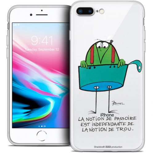 "Carcasa Crystal Gel Extra Fina Apple iPhone 7 Plus (5.5"") Les Shadoks® La Passoire"