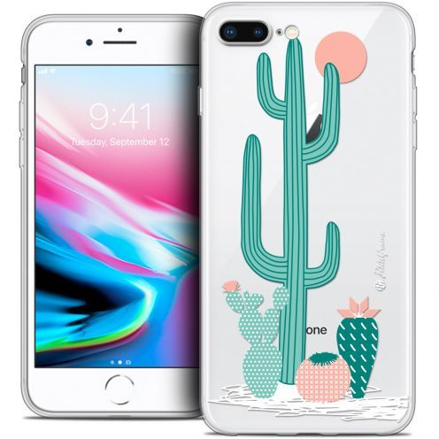 "Carcasa Crystal Gel Extra Fina Apple iPhone 7 Plus (5.5"") Petits Grains® A l'Ombre des Cactus"
