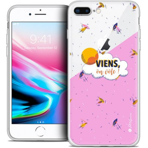 "Carcasa Crystal Gel Extra Fina Apple iPhone 7 Plus (5.5"") Petits Grains® VIENS, On Vole !"