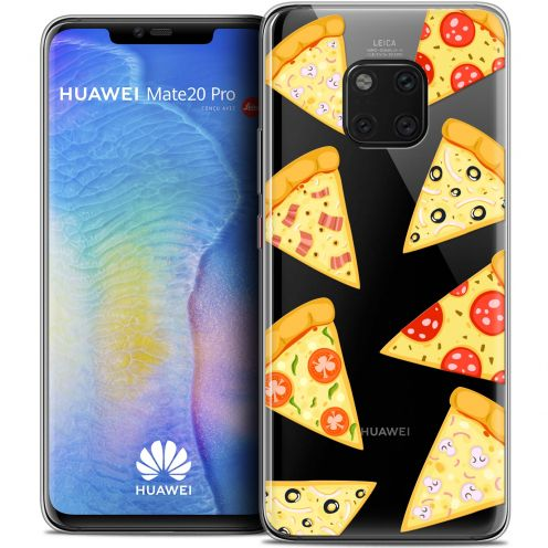 "Carcasa Crystal Gel Extra Fina Huawei Mate 20 PRO (6.4"") Foodie Pizza"