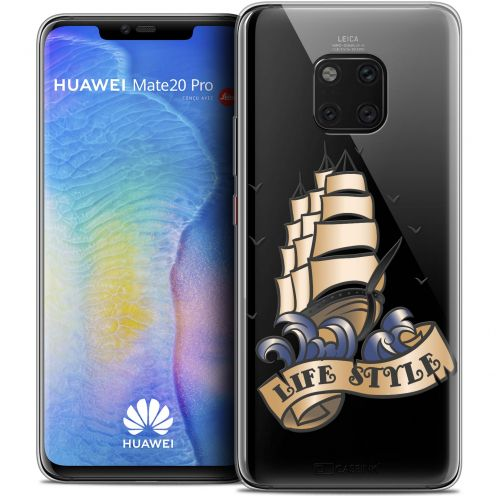 "Carcasa Crystal Gel Extra Fina Huawei Mate 20 PRO (6.4"") Tatoo Lover Life Style"
