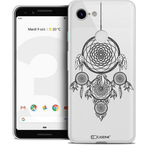 "Carcasa Crystal Gel Extra Fina Google Pixel 3 (5.5"") Dreamy Attrape Rêves NB"