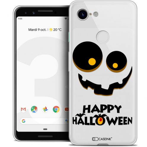 "Carcasa Crystal Gel Extra Fina Google Pixel 3 (5.5"") Halloween Happy"