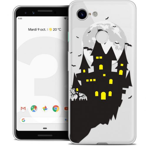 "Carcasa Crystal Gel Extra Fina Google Pixel 3 (5.5"") Halloween Castle Dream"