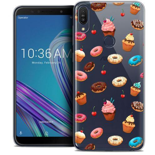 "Carcasa Crystal Gel Extra Fina Asus Zenfone Max Pro (M1) ZB601KL (6"") Foodie Donuts"