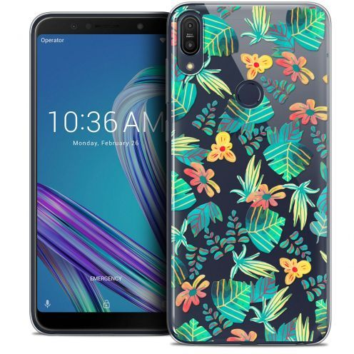 "Carcasa Crystal Gel Extra Fina Asus Zenfone Max Pro (M1) ZB601KL (6"") Spring Tropical"