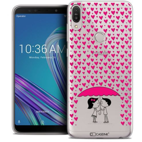 "Carcasa Crystal Gel Extra Fina Asus Zenfone Max Pro (M1) ZB601KL (6"") Love Pluie d'Amour"