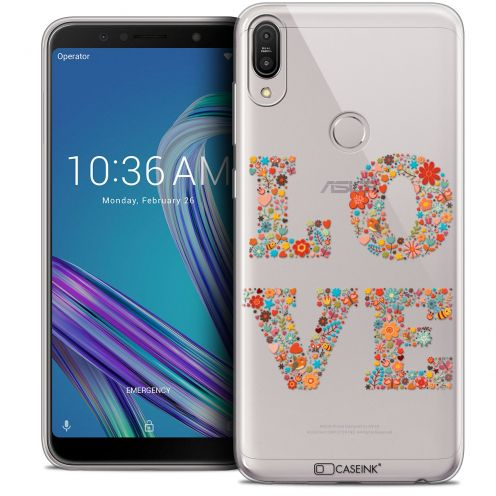 "Carcasa Crystal Gel Extra Fina Asus Zenfone Max Pro (M1) ZB601KL (6"") Summer Love Flowers"