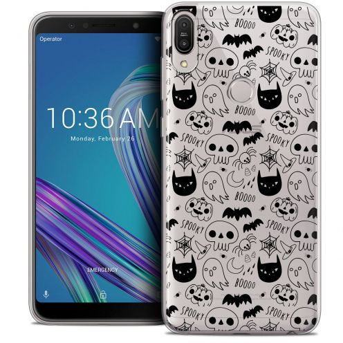 "Carcasa Crystal Gel Extra Fina Asus Zenfone Max Pro (M1) ZB601KL (6"") Halloween Spooky"