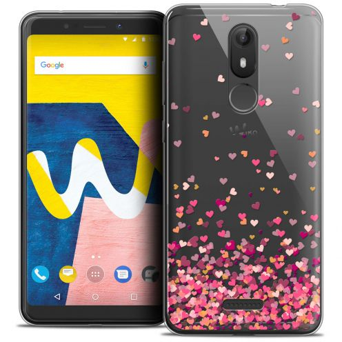 """Carcasa Crystal Gel Extra Fina Wiko View LITE (5.45"""") Sweetie Heart Flakes"""