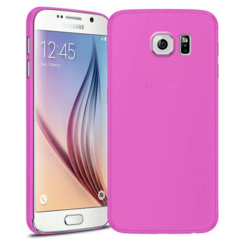 Funda Ultra fino 0.3mm Frost Samsung Galaxy S6 rosa