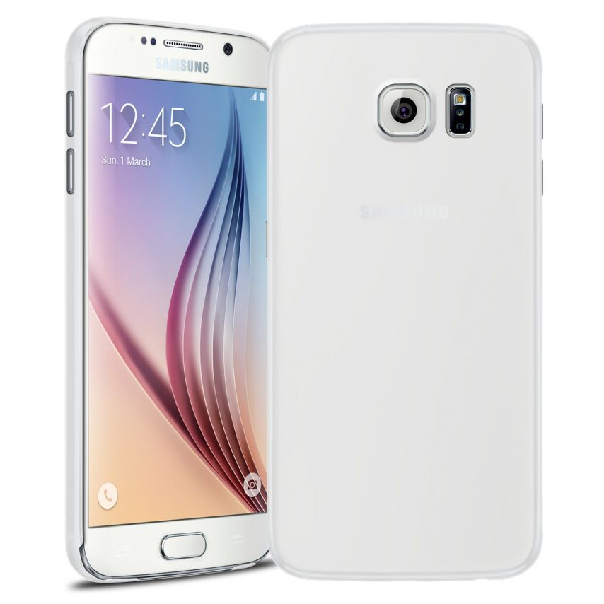 Funda Ultra fino 0.3mm Frost Samsung Galaxy S6 transparente