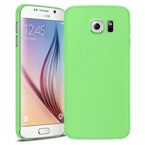 Funda Ultra fino 0.3mm Frost Samsung Galaxy S6 verde
