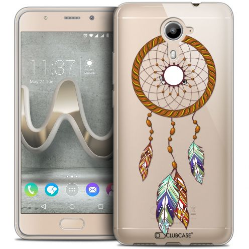 Carcasa Crystal Gel Extra Fina Wiko U Feel PRIME Dreamy Attrape Rêves Shine