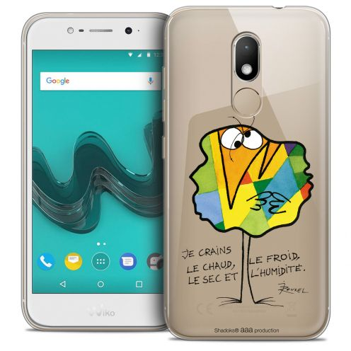 """Carcasa Crystal Gel Extra Fina Wiko Wim LITE (5.0"""") Les Shadoks® Chaud ou Froid"""