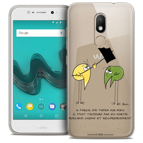 """Carcasa Crystal Gel Extra Fina Wiko Wim LITE (5.0"""") Les Shadoks® A Force"""