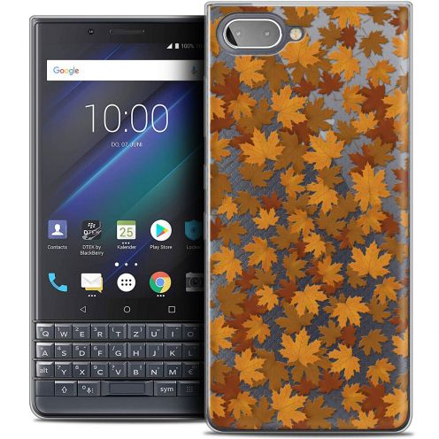 "Carcasa Crystal Gel Extra Fina BlackBerry Key2 LE (4.5"") Autumn 16 Feuilles"