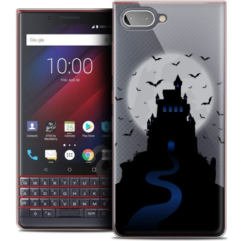 "Carcasa Crystal Gel Extra Fina BlackBerry Key2 LE (4.5"") Halloween Castle Nightmare"