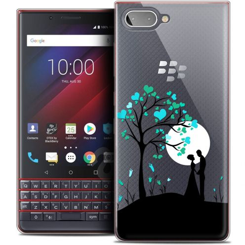 "Carcasa Crystal Gel Extra Fina BlackBerry Key2 LE (4.5"") Love Sous l'arbre"