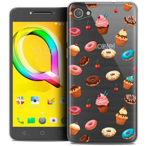 "Carcasa Crystal Gel Extra Fina Alcatel A5 LED (5.2"") Foodie Donuts"