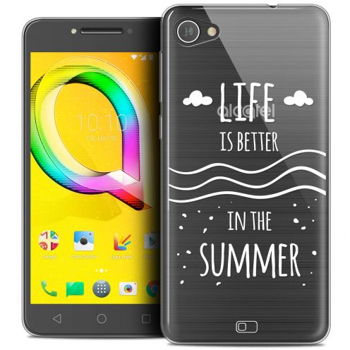 "Carcasa Crystal Gel Extra Fina Alcatel A5 LED (5.2"") Summer Life's Better"
