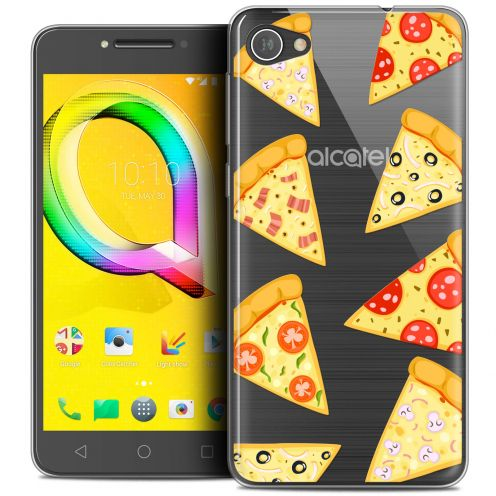 "Carcasa Crystal Gel Extra Fina Alcatel A5 LED (5.2"") Foodie Pizza"