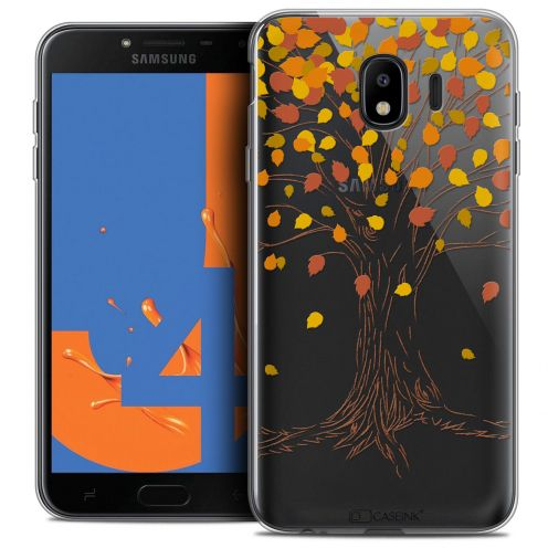 "Carcasa Crystal Gel Extra Fina Samsung Galaxy J4 2018 J400 (5.5"") Autumn 16 Tree"