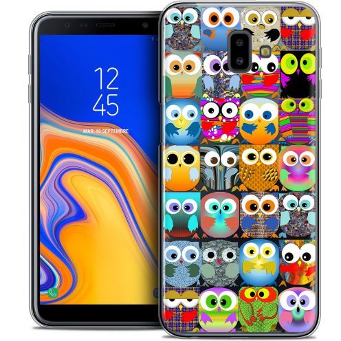"Carcasa Crystal Gel Extra Fina Samsung Galaxy J6 Plus J6+ (6.4"") Claude Hibous"