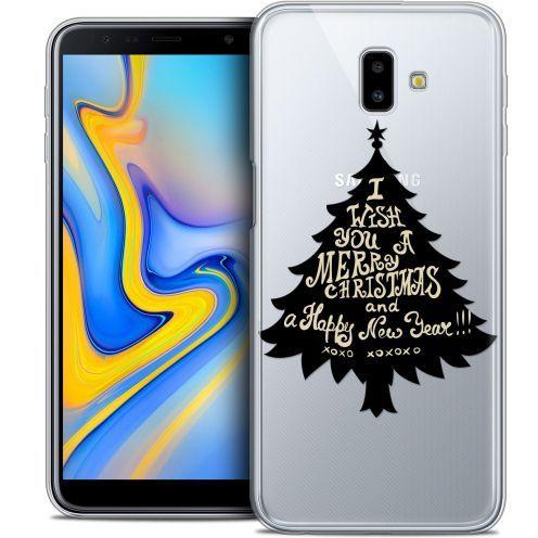 "Carcasa Crystal Gel Extra Fina Samsung Galaxy J6 Plus J6+ (6.4"") Noël 2017 XOXO Tree"