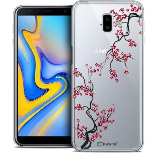 "Carcasa Crystal Gel Extra Fina Samsung Galaxy J6 Plus J6+ (6.4"") Summer Sakura"