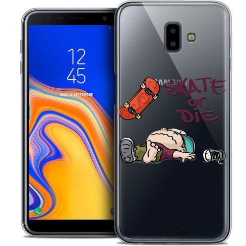 "Carcasa Crystal Gel Extra Fina Samsung Galaxy J6 Plus J6+ (6.4"") BD 2K16 Skate Or Die"
