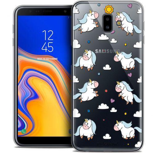 "Carcasa Crystal Gel Extra Fina Samsung Galaxy J6 Plus J6+ (6.4"") Fantasia Licorne In the Sky"