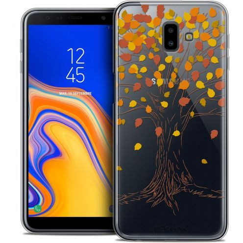 "Carcasa Crystal Gel Extra Fina Samsung Galaxy J6 Plus J6+ (6.4"") Autumn 16 Tree"