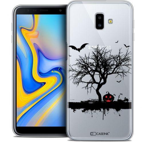 "Carcasa Crystal Gel Extra Fina Samsung Galaxy J6 Plus J6+ (6.4"") Halloween Devil's Tree"