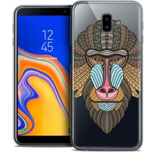 "Carcasa Crystal Gel Extra Fina Samsung Galaxy J6 Plus J6+ (6.4"") Summer Babouin"